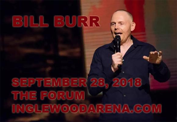 Bill Burr Tickets | 28th September | The Forum | Inglewood ...