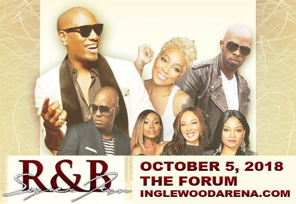 R&B Super Jam: Tyrese, Monica, Joe, Donell Jones & 702 at The Forum